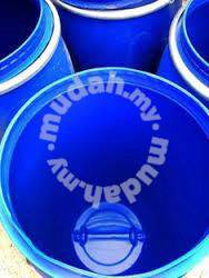 Blue Plastic Drum - Tong Plastik Biru