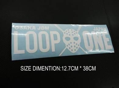 Sticker kanjo loop one