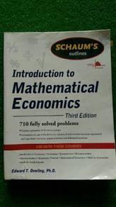Introduction to Mathematical Economics