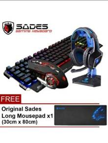 SADES Blademail Metal Material USB Wired Colorful