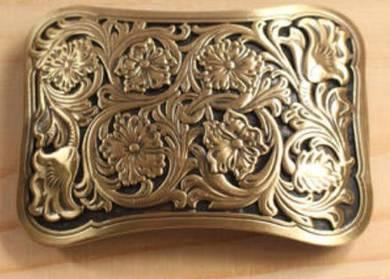 Man Pure copper Belt buckle