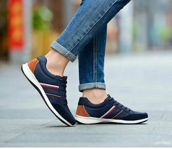 Men's Leather Casual Shoes. SSS0001