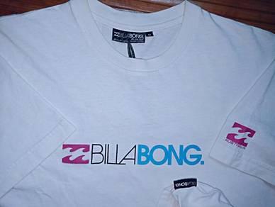 Authentic BILLABONG LETTER LOGO SzM T-Shirts