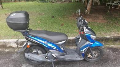 As new Yamaha EGO 115F