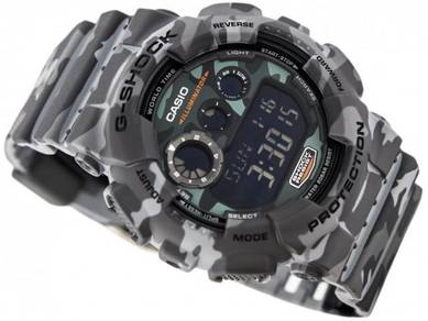 Watch-Casio Camouflage G SHOCK GD120CM-8 -ORIGINAL