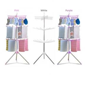 3Tier Foldable Clothing Drying Rack