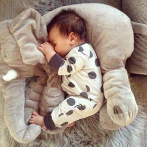 Elephant Pillow Toy Bantal Besar Gajah Patung
