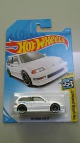 HotWheels '90 Honda Civic EF White Greddy