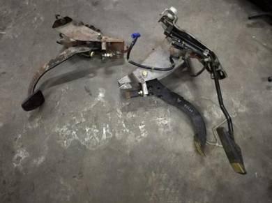 Subaru GC8 impreza STI Foot Pedal Set
