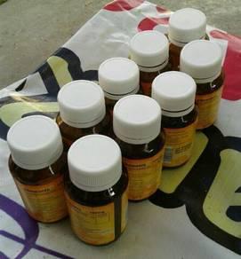 Botol vitamin C kosong