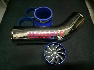 Simota fan with chrome ram pipe