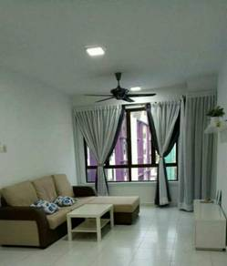 Fully Furnished 2 Rooms Unit at The Height, Ayer Keroh, Bukit Beruang