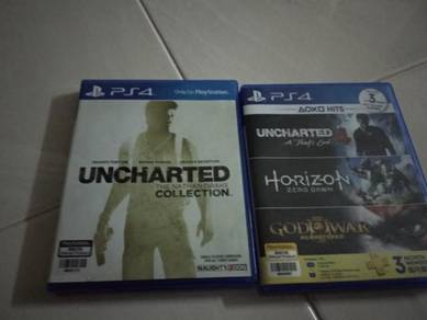 Uncharted 1,2,3 & 4