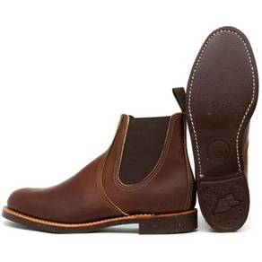 Work Boots Red Wing 6In Chelsea Rancher Brown 8201