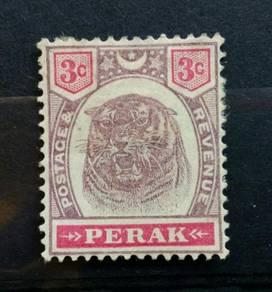Malaya Perak 1895 3c SG68 mint BL201