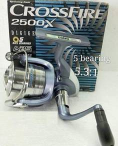 Daiwa X CrossFire X 2500 / 3000 Fishing Reel