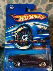 Hotwheels '71 Mustang Funny Car - Dark Purple