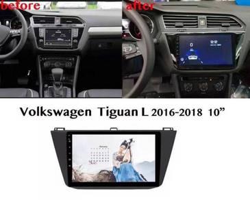 Volkswagen Tiguan 16-18 android player 1 RAM 16G