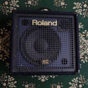 Keyboard drum amp