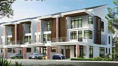 Modern 3-storey terrace, Prai