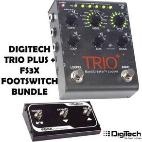Digitech Trio Plus with Foot Switch Pedal