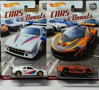 Hot wheels cars & donut lot