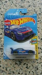 HotWheels '16 Mercedes AMG GT3 Blue