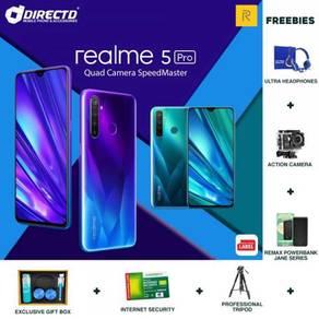 TERBARU- REALME 5 Pro (8GB/128GB) + 6 Free Gift