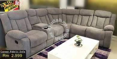 Corner Sofa With 2 Recliner
