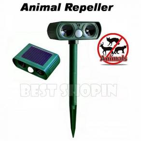 Solar-power Sensor Ultrasonic Pest Animal Repeller