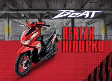 Tahun 2020 New HONDA BeAt 110 V2 Promosi Hebat!!!