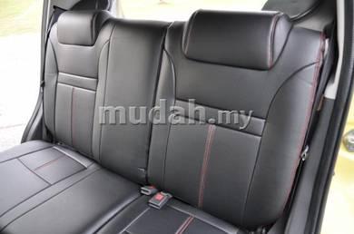 Myvi viva semi leather seat cover seat