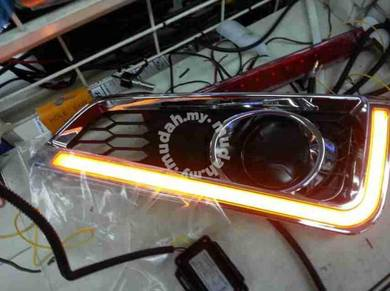 Honda city 2015 led daylight drl with signal