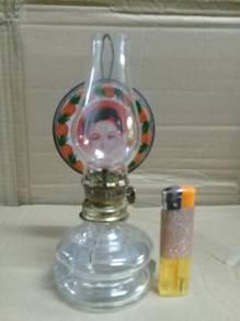 119 Pelita antik nyonya Ah Soo antique oil lamp