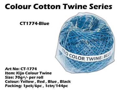 CT1774-Kijo Colour Twine Blue