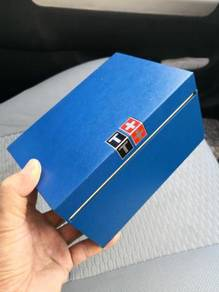 (B398) Pre Owned Big Size Blue Tissot Watch Box