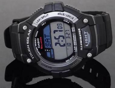 Casio Men Digital Solar Sport Watch W-S220-1AVDF