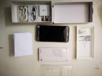 Samsung note 5 titanium grey fullset