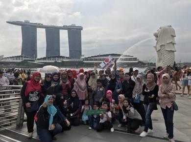 Pakej Singapore Day Trip