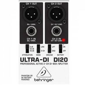 Behringer ULTRA-DI DI20 (DI-20)