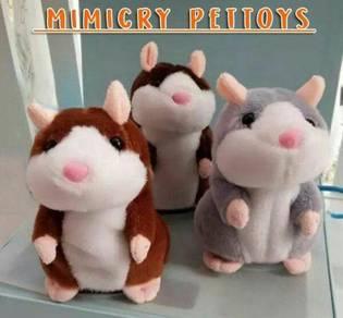 Talking Hamster toys(grey/brown/darkbrown)1