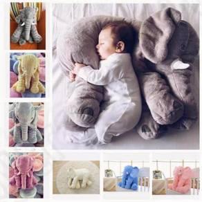 Elephant Gajah Besar Bantal Patung Soft Toy Lembut
