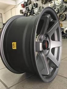 Sport rim 16 inch 8JJ TE37 Myvi Alza Vios Almera