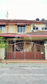 Double Storey Semi Furnished House at Teluk Intan