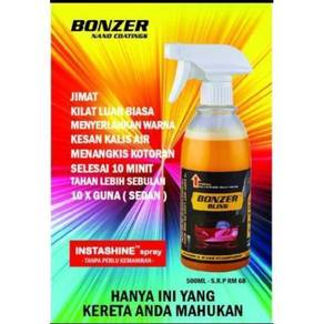 Bonzer Bling Spray Wax Super Kilat Nano Coating