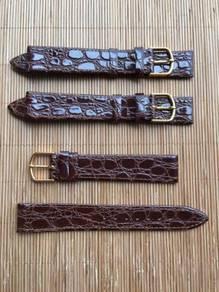 3pcs 18 mm JB Champion Leather Watch Strap