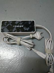 Charger laptop jenama innergie 19v .4.74A .90 watt