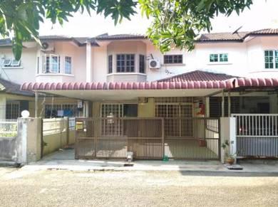 2 stry extended terrace taman patani jaya near town selatan