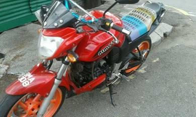 2013 Nimota CK9 Motor utk dijual.