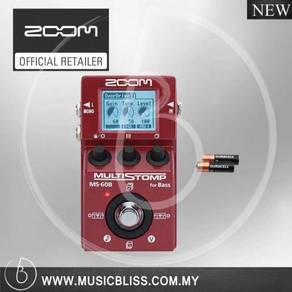 Zoom MS-60B MS60B MultiStomp Pedal (MS60B)